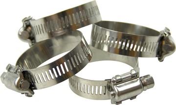Bild på Slangklämmor rostfritt stål 4 st.