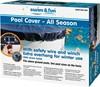 Pool Vintercover med wirelås 5 x 3 M