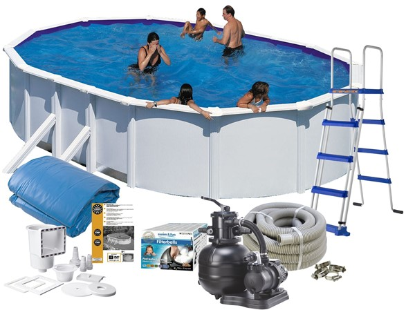 Pool Basic 5.00 x 3.00 x 1.20 m. White