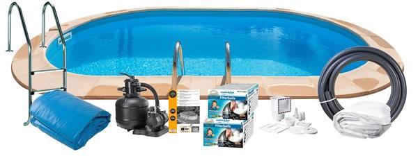 Pool Basic InGround 8.00x4.00x1.20m