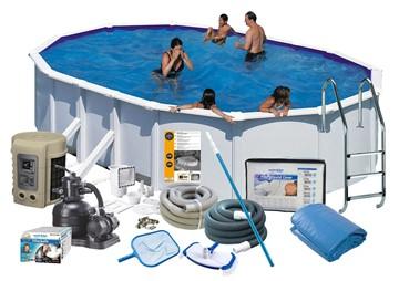 Pool Delux 5.00 x 3.00 x 1.32 m. White