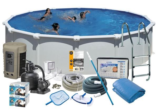 Pool Delux Ø5.50 x 1.32 m. White