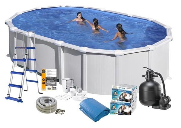 Pool Basic 9.15 x 4.70 x 1.32 White