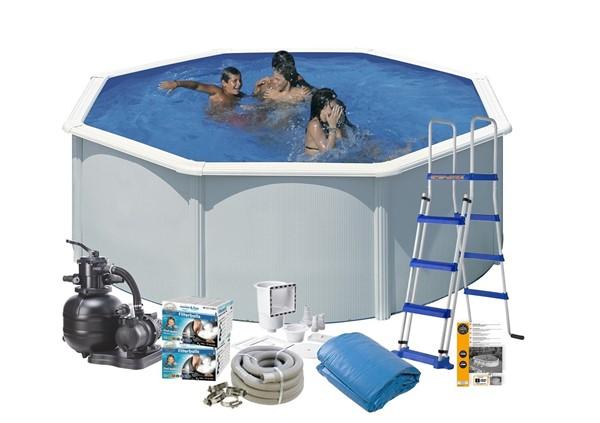 Pool Basic Ø5.5 x 1.20 m. White