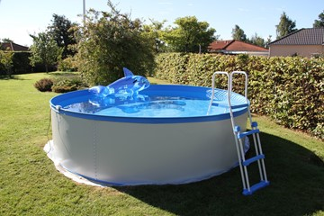 Pool Kreta Ø3.5 x 0.90 L + pumpe